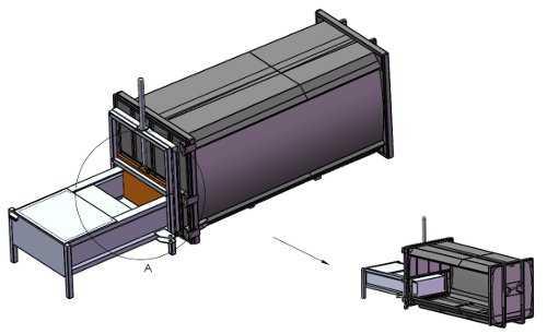 Компактор с предварительным прессованием