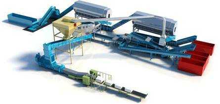 Оборудование для сортировки мусора цена